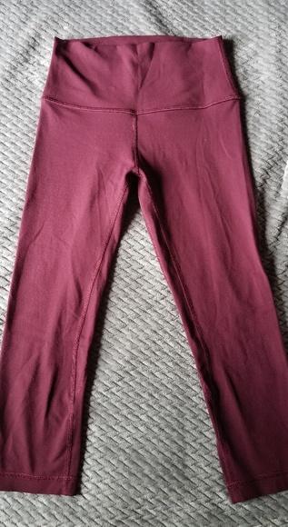 792b9ad2b2 lululemon athletica Pants | Lululemon Align Crops 19 Redwood 4 ...